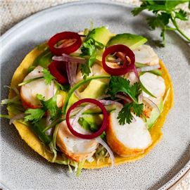 Lobster Tostada