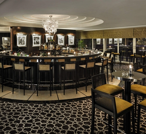 Enjoy a wide selection of champagne and cocktails at Bar 44
