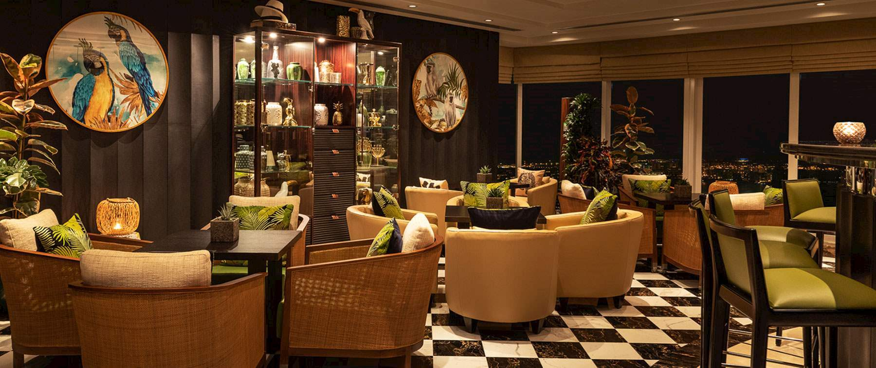 Coolest Bar In Dubai That Serves A Stunning Range Of Champagnes Single Malts And Cocktails